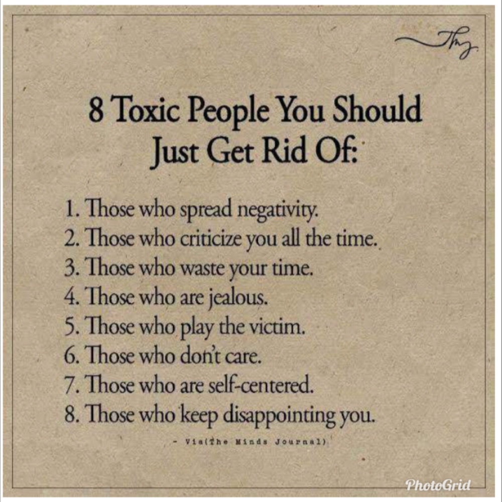 Go People Toxic Letting Quotes About